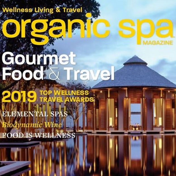 Organic Spa Magazine, July/August 2019